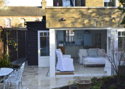 Enfield Chase EN2 Rear house extension refurbishment External view 400x284 Filterable Portfolio of Residential Architecture Projects