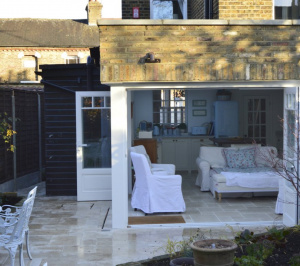 Enfield Chase EN2 Rear house extension refurbishment External view e1582377462760 300x266 Enfield Chase EN2 | Rear house extension and refurbishment