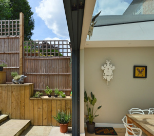 Architect designed rear house extension Highgate Haringey N6 – Inside out 300x266 Highgate, Haringey N6 | Rear house extension