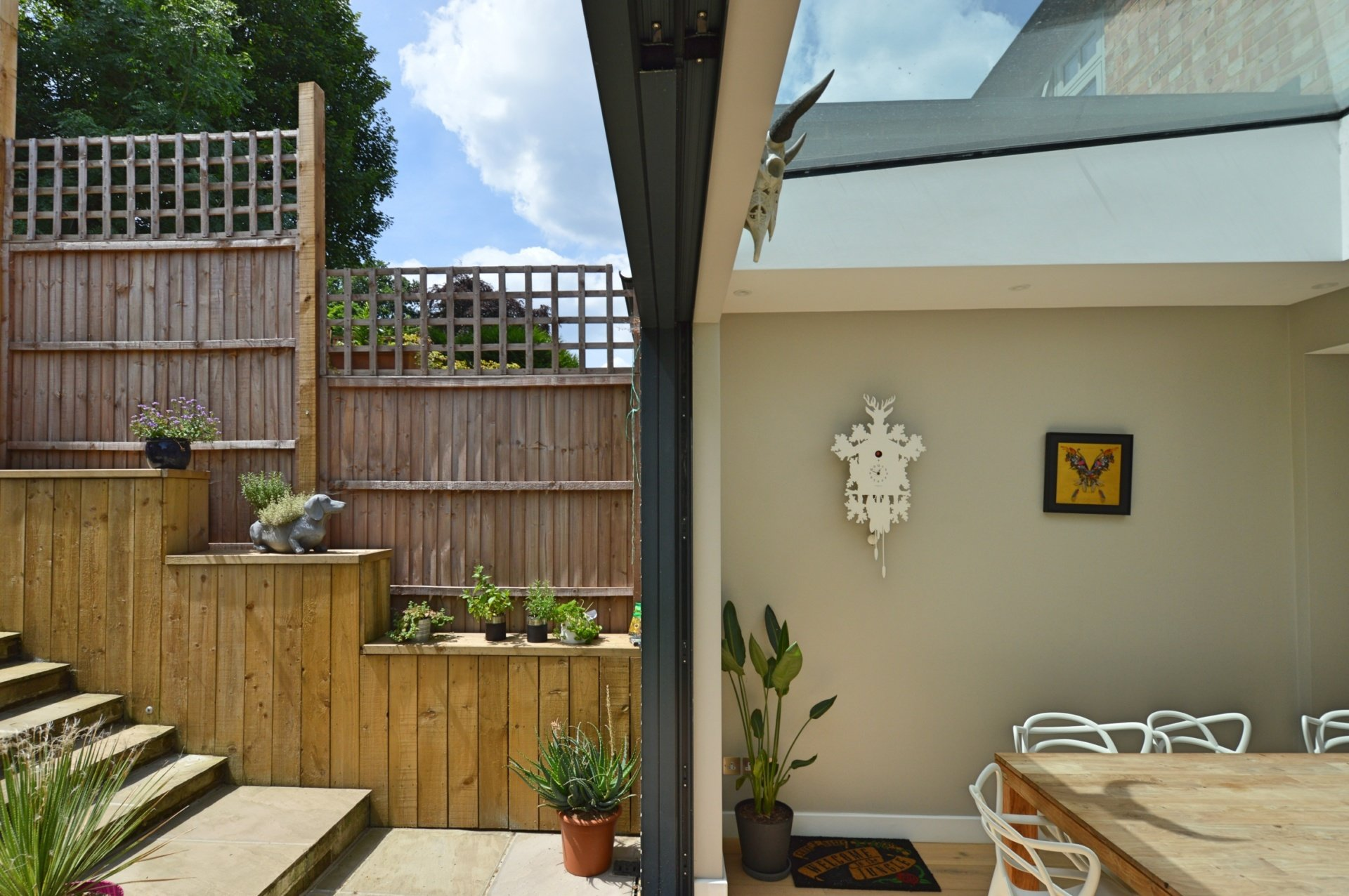 Architect designed rear house extension Highgate Haringey N6 – Inside out Highgate, Haringey N6 | Rear house extension