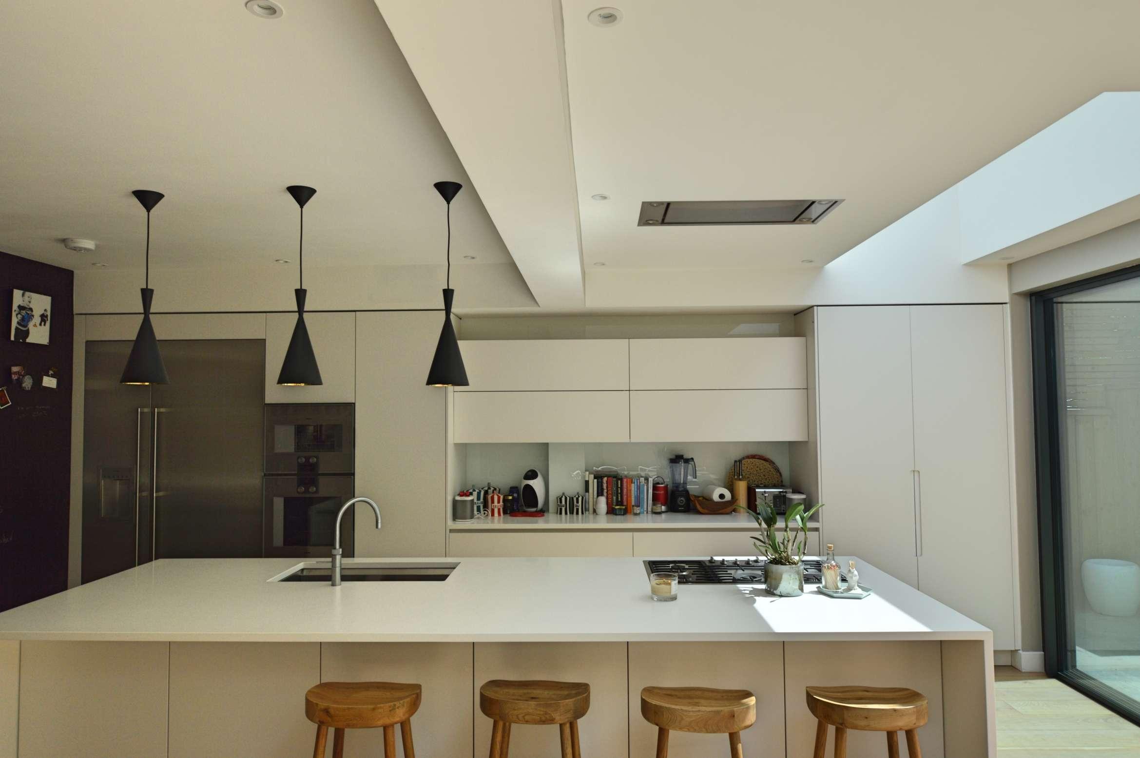 Architect designed rear house extension Highgate Haringey N6 – Kitchen breakfast area Highgate, Haringey N6 | Rear house extension
