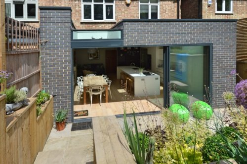 Architect designed rear house extension Highgate Haringey N6 – Rear elevation e1582375164952 Highgate, Haringey N6 | Rear house extension