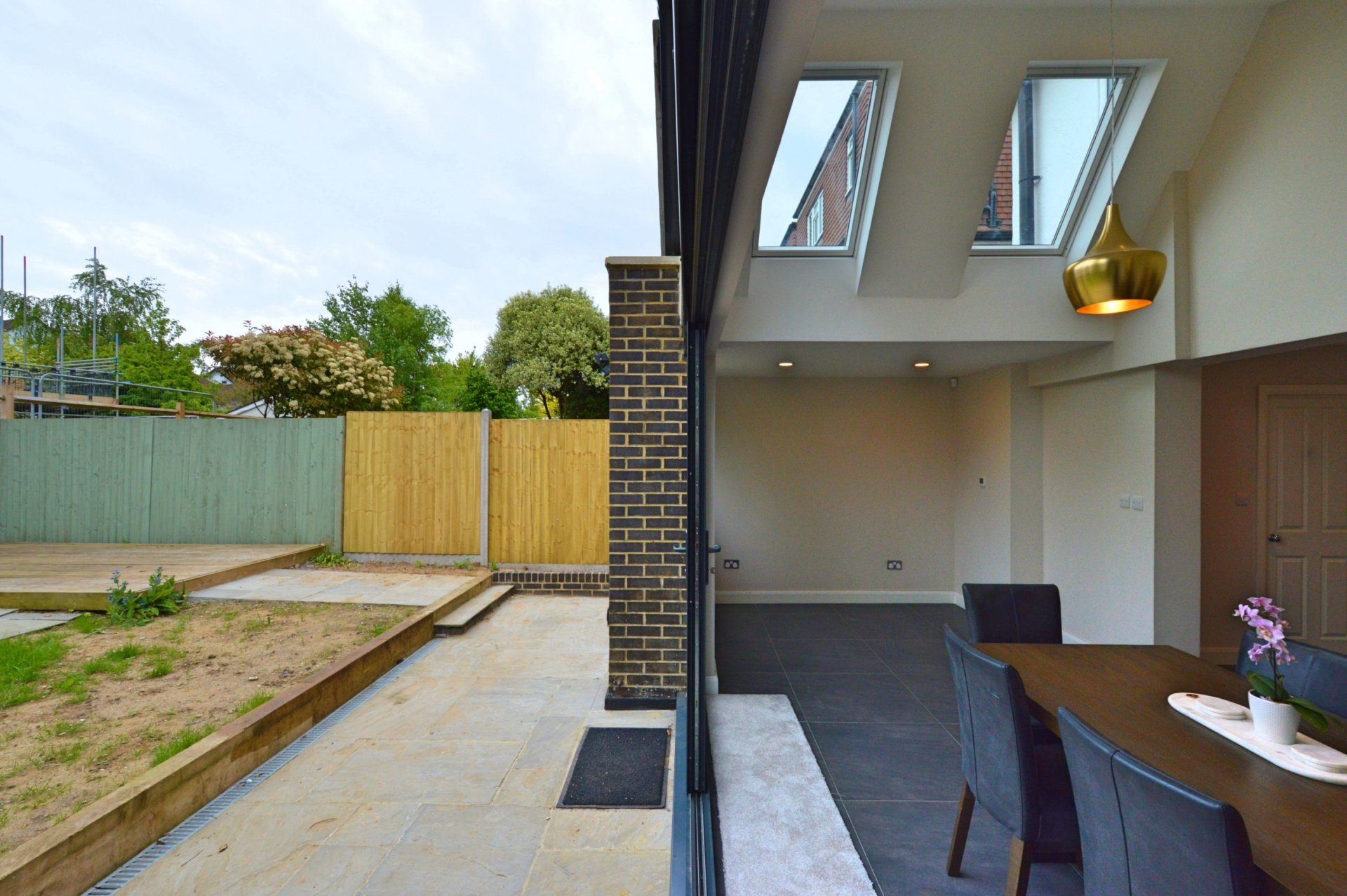 Architect designed roof and kitchen house extension Kingston KT2 Inside out Kingston KT2 | Roof and kitchen house extension