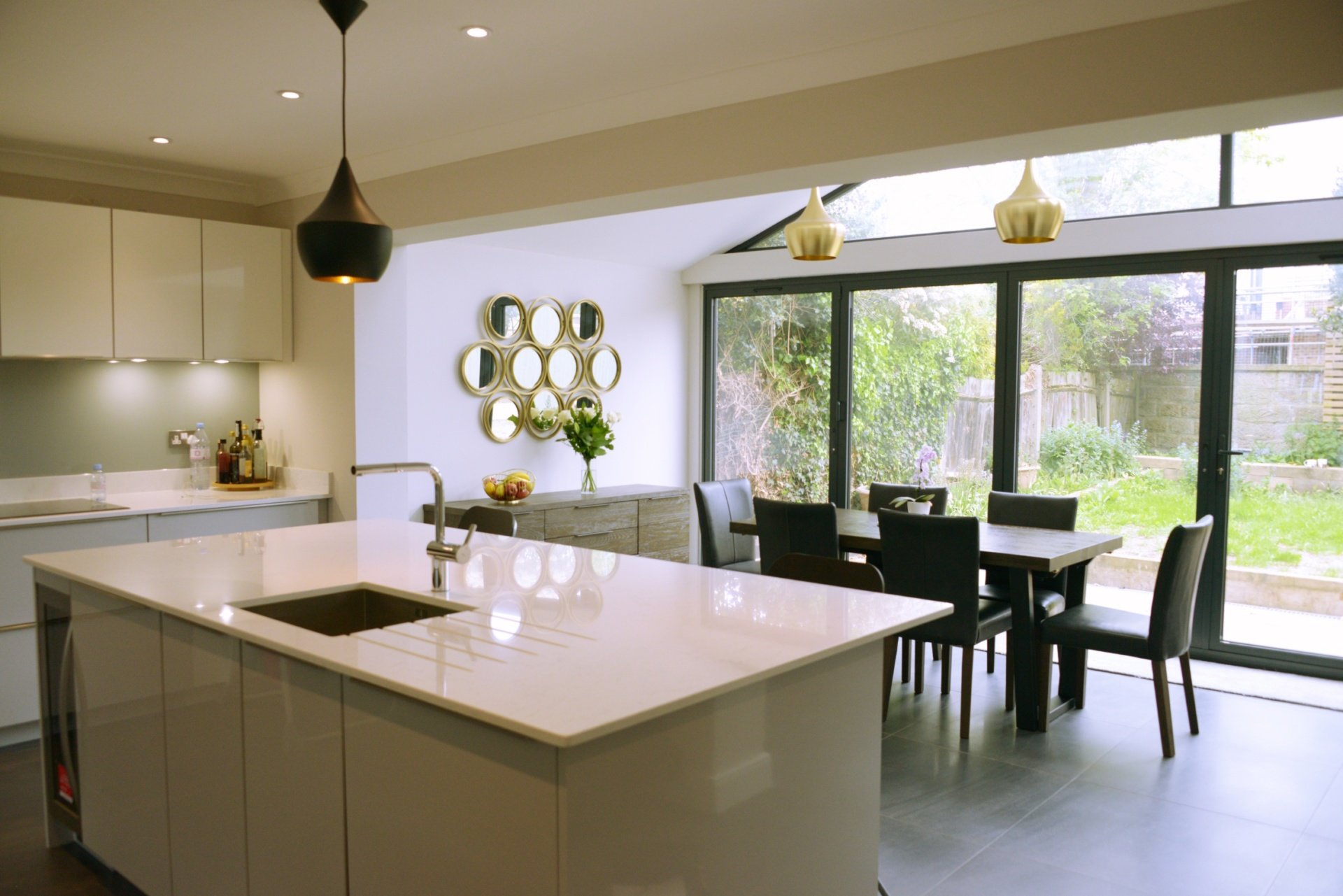 Architect designed roof and kitchen house extension Kingston KT2 Kitchen area Kingston KT2 | Roof and kitchen house extension