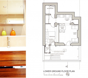 Paddington Westminster W2 Listed Building flat renovation Floor plan 300x266 Paddington Westminster W2 | Listed Building flat renovation