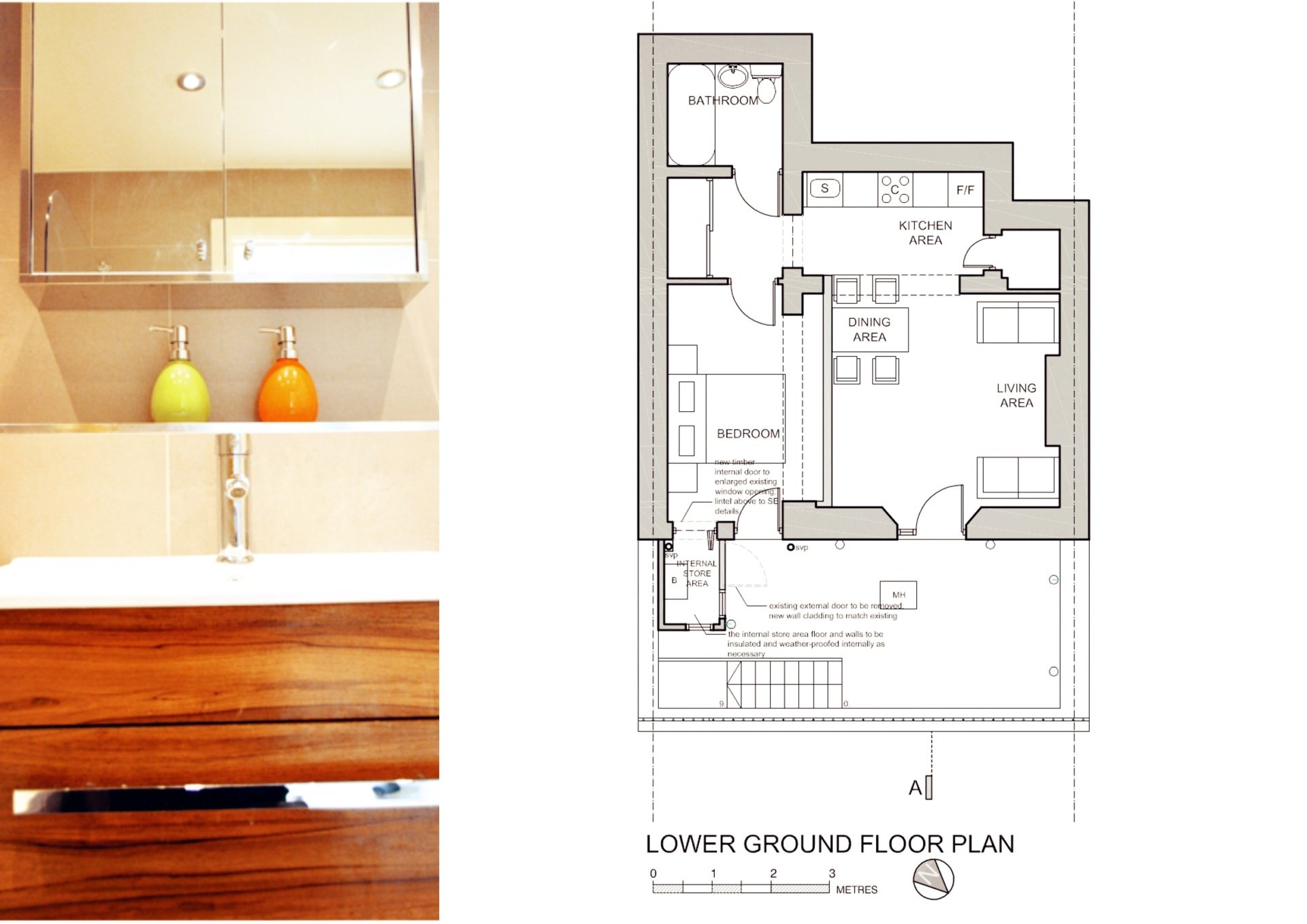 Paddington Westminster W2 Listed Building flat renovation Floor plan Paddington Westminster W2 | Listed Building flat renovation