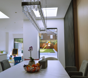 Residential house extension and refurbishment Finchley Road Camden NW6 Dining area scaled 300x266 Residential house extension and refurbishment Finchley Road Camden NW6