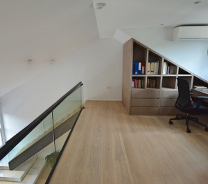 Residential house extension and refurbishment Finchley Road Camden NW6 Master bedroom and home study scaled 300x266 Residential house extension and refurbishment Finchley Road Camden NW6