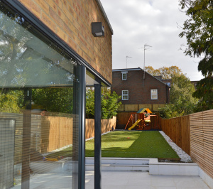 Residential house extension and refurbishment Finchley Road Camden NW6 Side and garden scaled 300x266 Residential house extension and refurbishment Finchley Road Camden NW6