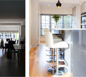3 scaled 300x266 Residential renovation kitchen refurbishment Canonbury Park North Islington N1